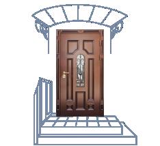 заказ на металлические двери для подсобного помещение в г зарайск