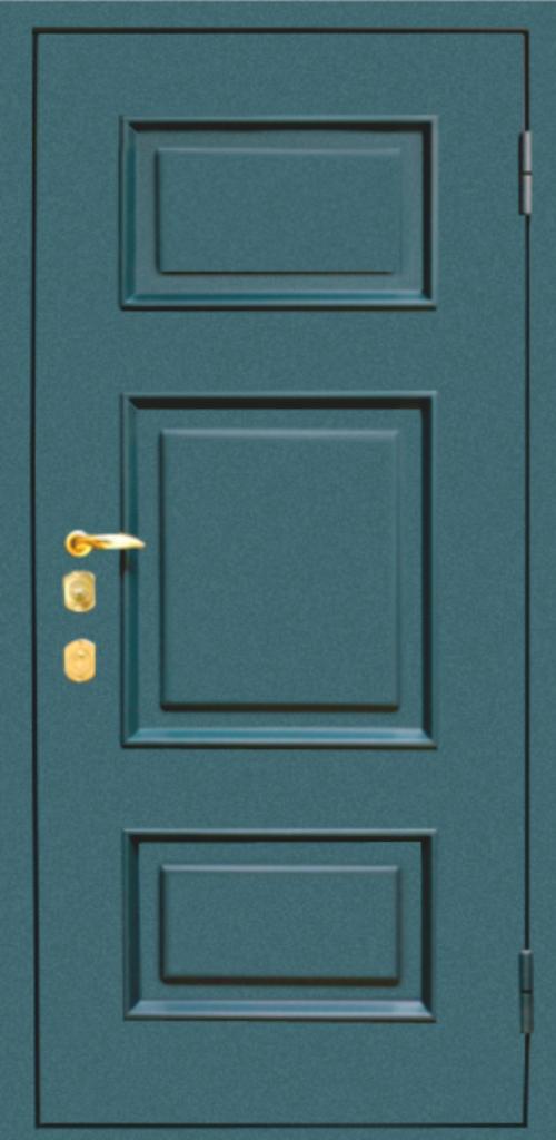 металлические филенки на двери