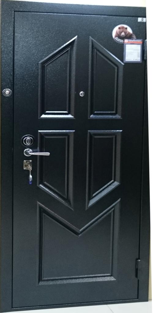 двери металлические на металле филенка