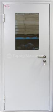 металлические противопожарные двери от производителя со стеклопакетом